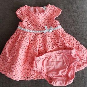 Beautiful Carter's Coral Dress